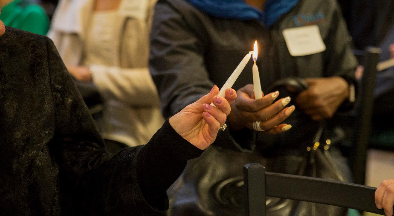 45-candle-lighting